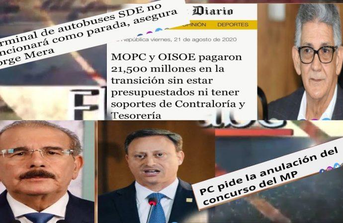 Nada se puede cambiar en República Dominicana? | El Jarabe Seg-3 18/09/20