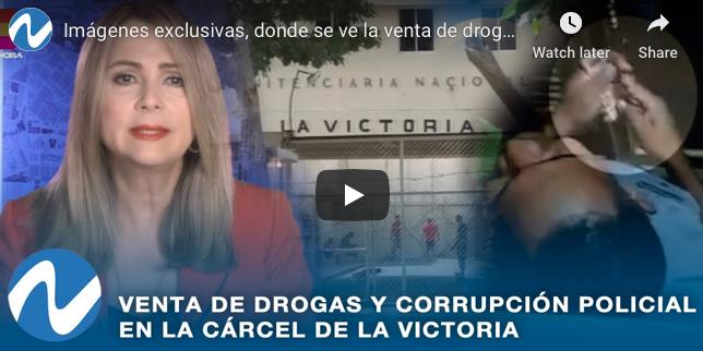 Periodista duró meses grabando «la corrupción y venta de drogas» en la cárcel La Victoria