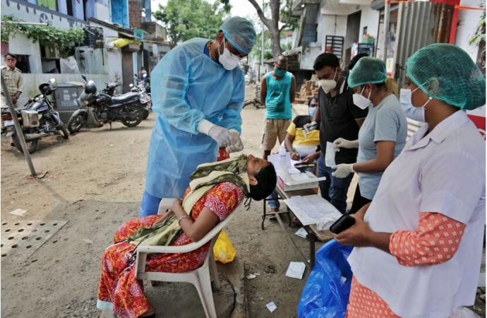 India se convierte en el segundo país más afectado por el COVID-19 con 4.2 millones de casos