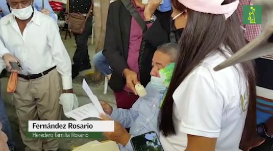 """Contrario a lo que solicitó la Fiscalía, la """"familia Rosario"""" defiende que """"su herencia existe"""""""