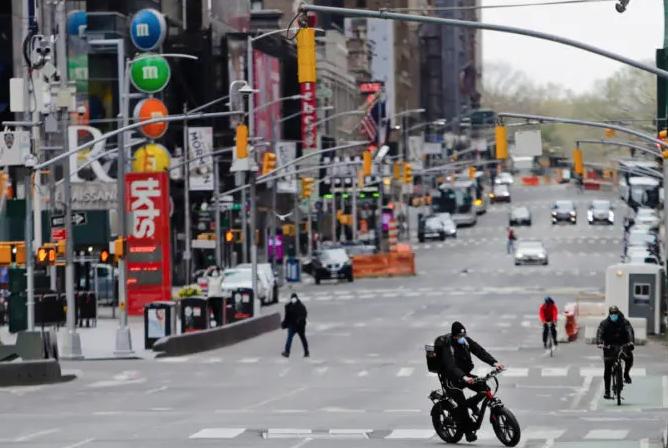Nueva York reporta una muerte por COVID-19, su cifra diaria más baja