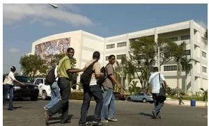 UASD sufre traspiés en su primer día de docencia virtual