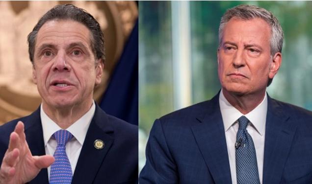 Gobernador Cuomo culpa a De Blasio y otras autoridades NYC por auge crimen