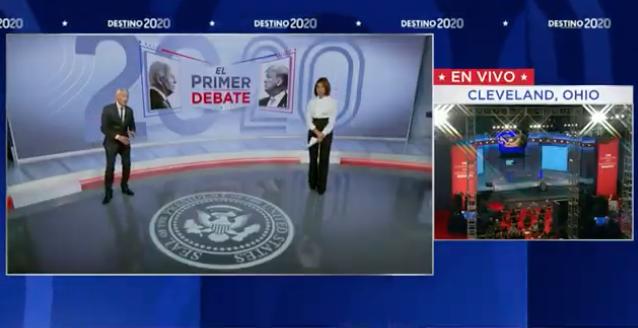 EN VIVO: Primer debate presidencial entre Donald Trump y Joe Biden