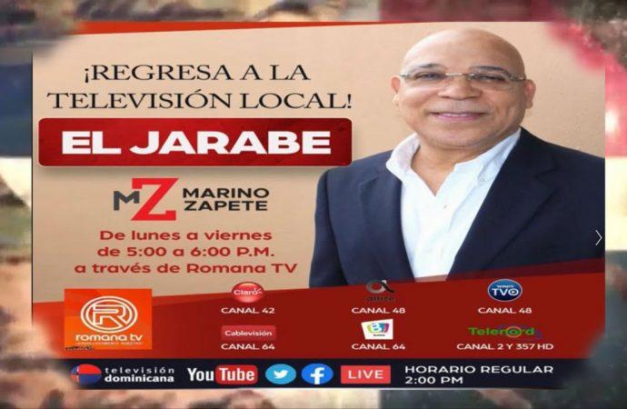 El Jarabe de Zapete regresa a la televisión local dominicana | El Jarabe Seg-1 14/09/20