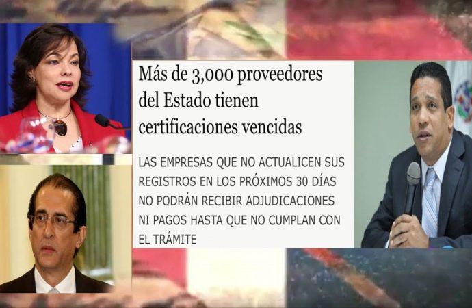 ¿Suplidores del Estado o políticos ladrones disfrazados?   El Jarabe Seg-2 23/09/20