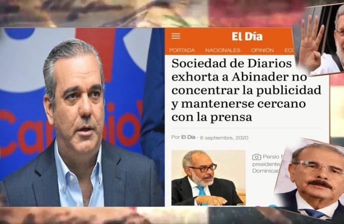 La Sociedad de Diarios quiere extorsionar al Gobierno?   El Jarabe Seg-4 07/09/20