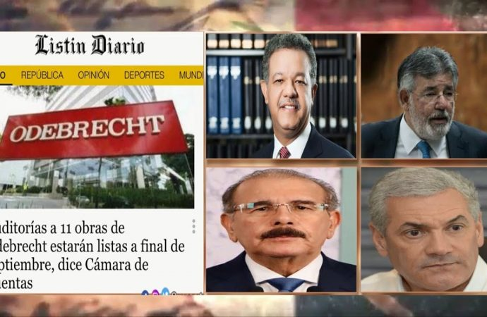 Auditorías a obras de Odebrecht, pero sin Punta Catalina | El Jarabe Seg-4 09/09/20