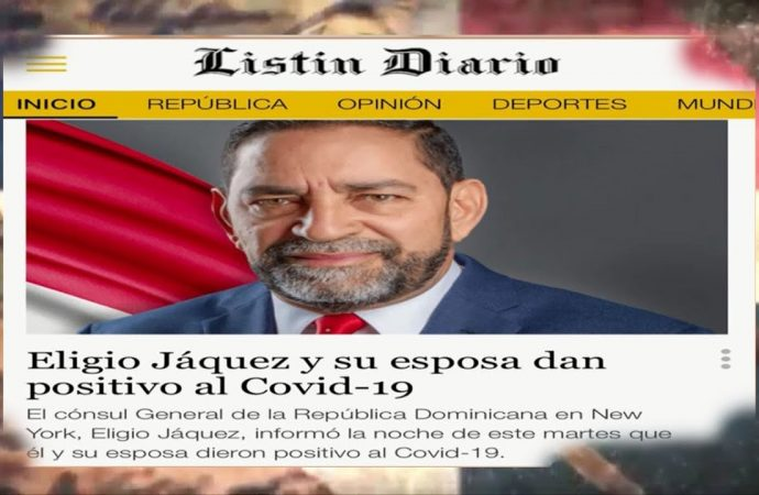 Eligio Jáquez, cónsul dominicano en NY positivo a Covid19   El Jarabe Seg-4 03/09/20