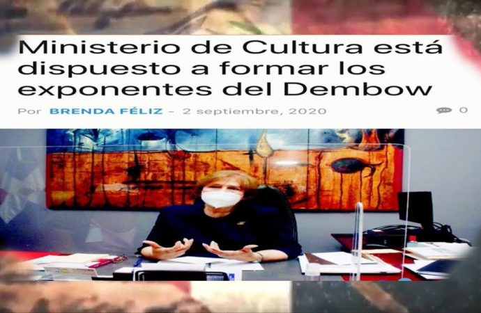 La ministra, la cultura y el dembow | El Jarabe Seg-2 03/09/20