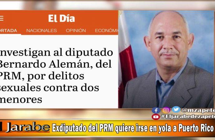 Ex-diputado del PRM quiere irse en yola a Puerto Rico | El Jarabe Seg-4 08/09/20