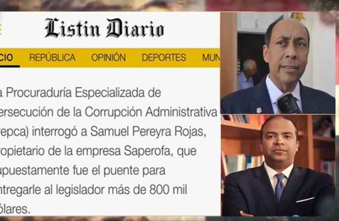 Samuel Pereyra: del escándalo de los tucanos a Banreservas | El Jarabe Seg-3 04/09/20