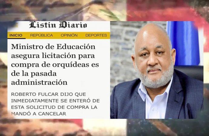 """Orquídeas y """"asesores botellas"""" en el ministerio de Educación   El Jarabe Seg-3 08/10/20"""