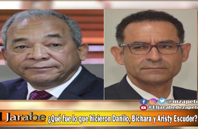 ¿Qué fue lo que hicieron Danilo, Bichara y Aristy Escuder? | El Jarabe Seg-4 07/10/20