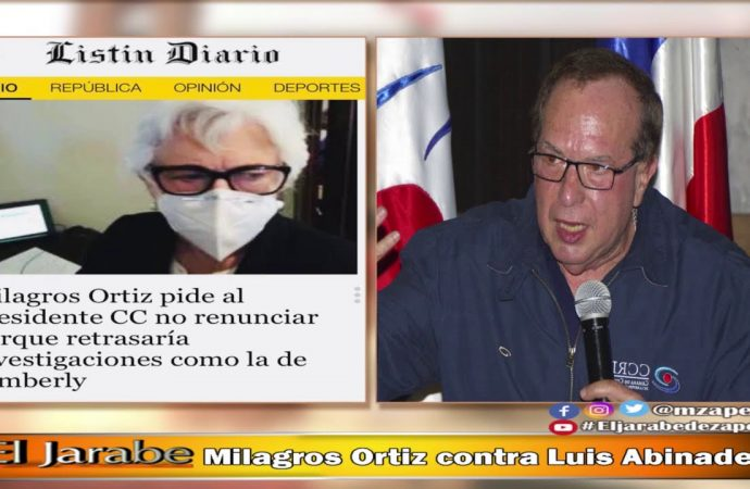 Milagros Ortiz contra Luis Abinader | El Jarabe Seg-4 13/10/20