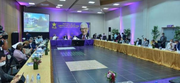 Danilo, Gonzalo, Margarita y Temo encabezan reunión del Comité Político del PLD