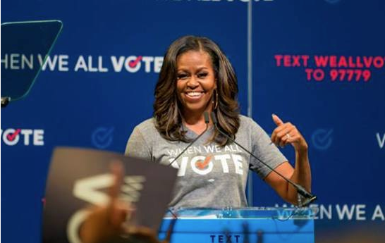 Michelle Obama: Trump manejó pandemia intencionalmente mal