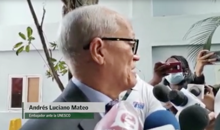 Andrés L. Mateo afirma ministra de la Juventud debe ser suspendida mientras se investiga