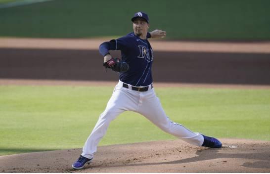 Los Rays con ventaja en el picheo ante los Dodgers