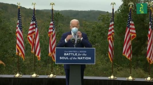 """Biden promete controlar COVID-19 y Trump ofrece """"super recuperación"""""""