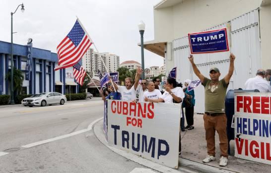 Seis de cada 10 cubanos de Miami votarán por Trump, según encuesta