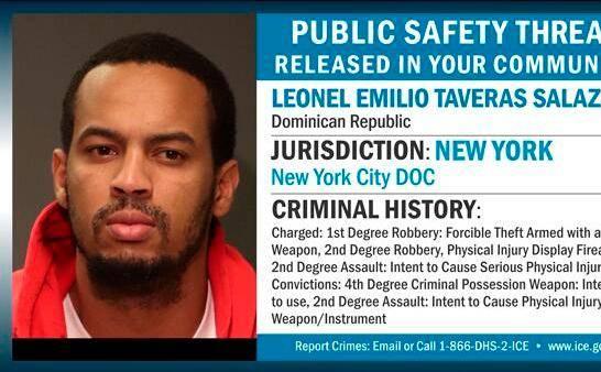 Policía de migración en Nueva York apresa a dominicanos ilegales durante redada