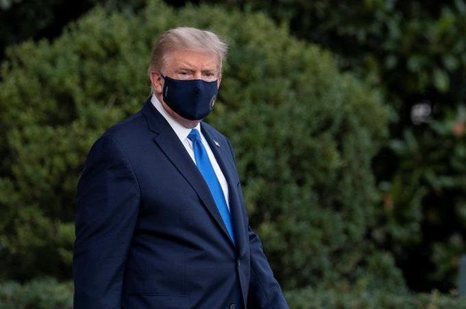 Trump en vídeo: Estoy muy bien y vamos a asegurarnos de que todo funciona