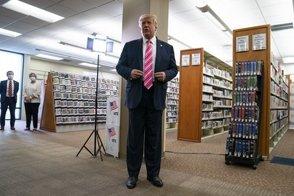 """Trump: """"Voté por un tipo llamado Trump"""""""