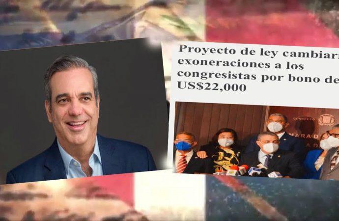 Abinader si cambio rápido / Congresistas son legalmente superiores a los demás dominicanos   seg-1