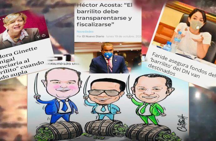 Políticos dominicanos con hambre de dinero | El Jarabe Seg-3 21/10/20