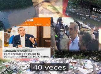 Políticos miopes desperdician el tesoro del río Ozama | El Jarabe Seg-1 26/10/20