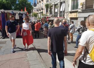 """Madrid despierta de su encierro posCovid-19 y ya se siente el """"jolgorio"""" en las vías comerciales"""