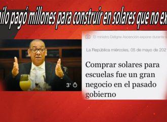 Danilo pagó millones para construir en solares que no existen | El Jarabe Seg-3 05/05/21