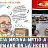 Lucia Medina metió a su hermano en la hoguera | El Jarabe Seg-4 17/06/21