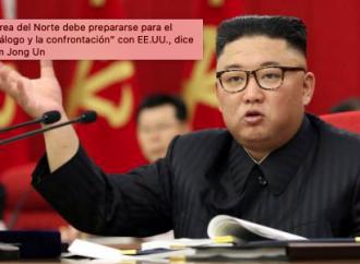 """Corea del Norte debe prepararse para el """"diálogo y la confrontación"""" con EE.UU., dice Kim Jong Un"""