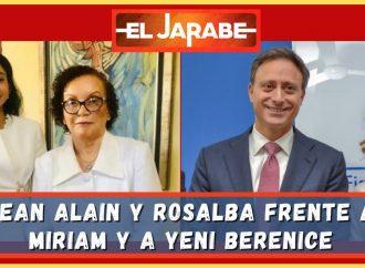 Jean Alain y Rosalba frente a Miriam y a Yeni Berenice | El Jarabe Seg-4 22/06/21