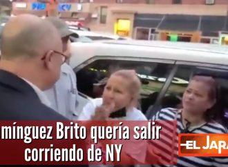 Domínguez Brito quería salir corriendo de NY | El Jarabe 17/09/21