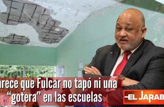 """Parece que Fulcar no tapó ni una """"gotera"""" en las escuelas   El Jarabe Seg-3 21/09/21"""