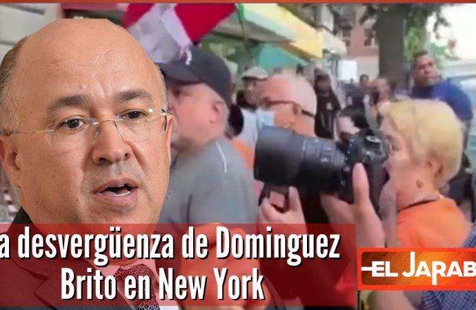 La desvergüenza de Dominguez Brito en New York   El Jarabe Seg-4 17/09/2021