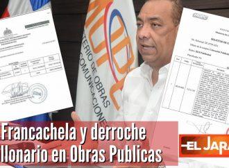 Francachela y derroche millonario en Obras Publicas | El Jarabe Seg-3 17/09/2021