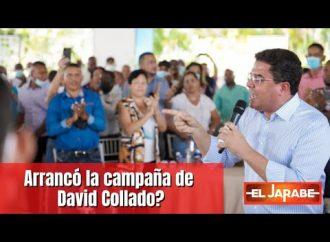 Arrancó la campaña de David Collado? | El Jarabe 17/10/21